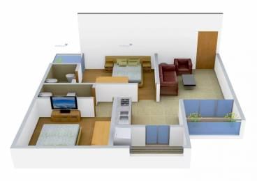 990 sqft, 2 bhk Apartment in Keval Ashraya 9 Ranip, Ahmedabad at Rs. 8000