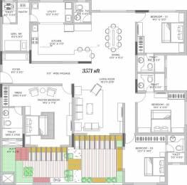 3571 sqft, 4 bhk Apartment in Vaishnavi Terraces JP Nagar Phase 4, Bangalore at Rs. 70000