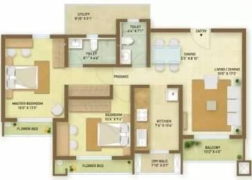 1172 sqft, 2 bhk Apartment in Indiabulls Greens Panvel, Mumbai at Rs. 90.0000 Lacs