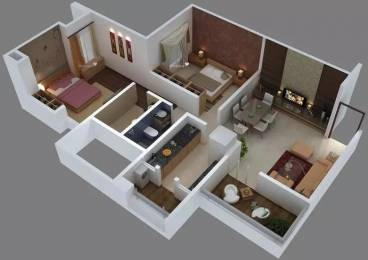 1065 sqft, 2 bhk Apartment in Malkani Belle Vie Wagholi, Pune at Rs. 52.0000 Lacs