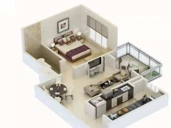 801 sqft, 1 bhk Apartment in Karia Konark Meadows Wagholi, Pune at Rs. 41.0000 Lacs