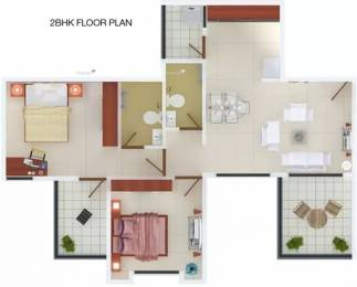 923 sqft, 2 bhk Apartment in Manav Silver Springs Wagholi, Pune at Rs. 43.0000 Lacs