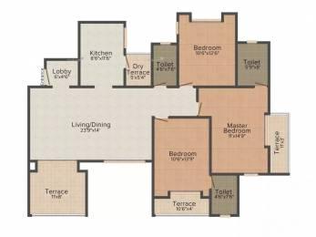 1629 sqft, 3 bhk Apartment in Shree Felicita Baner, Pune at Rs. 1.0000 Cr