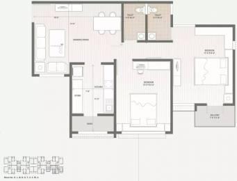 963 sqft, 2 bhk Apartment in Swagat Afford Sargaasan, Gandhinagar at Rs. 15000