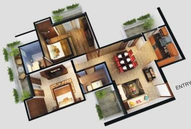 1140 sqft, 2 bhk Apartment in Builder Sportshome Noida Extn, Noida at Rs. 42.7500 Lacs