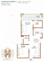 683 sqft, 2 bhk Apartment in Shree Green Court Sector 90, Gurgaon at Rs. 21.5400 Lacs