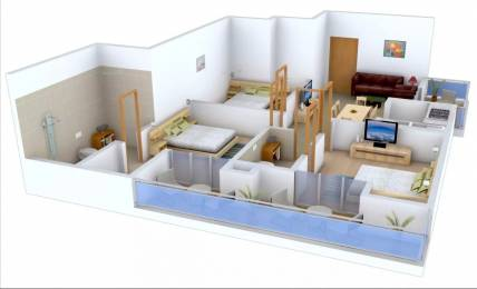 1175 sqft, 2 bhk Apartment in Ajnara Integrity Raj Nagar Extension, Ghaziabad at Rs. 6500