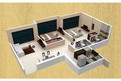 930 sqft, 2 bhk Apartment in Ashray Jaswanti Woods Mulund West, Mumbai at Rs. 1.2400 Cr