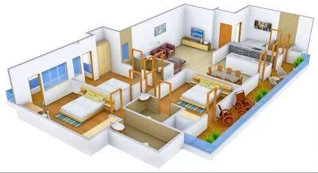 1743 sqft, 3 bhk Apartment in CHD Avenue 71 Sector 71, Gurgaon at Rs. 1.2000 Cr