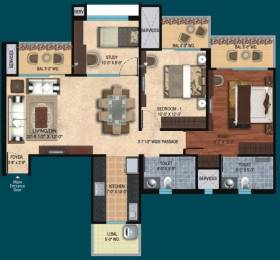 1380 sqft, 2 bhk Apartment in Mahagun Mirabella Sector 79, Noida at Rs. 90.0000 Lacs