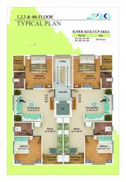 950 sqft, 2 bhk Apartment in Builder Vastu Residency Beltarodi Road, Nagpur at Rs. 35.1000 Lacs