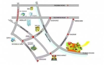 1000 sqft, Plot in Builder Real vision group Lucknow Nagaram Nigoha Marg, Lucknow at Rs. 2.5000 Lacs