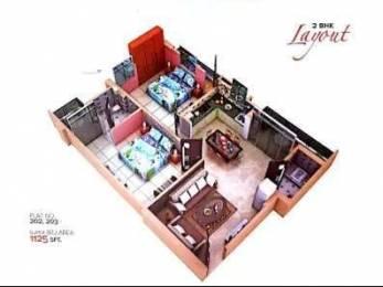 1125 sqft, 2 bhk Apartment in Builder Sunrise sai tower RK Puram Colony Road, Patna at Rs. 38.7000 Lacs