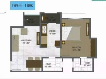 574 sqft, 1 bhk Apartment in DB Ozone Dahisar, Mumbai at Rs. 50.0000 Lacs