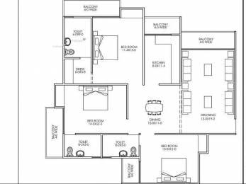 1600 sqft, 3 bhk Apartment in Builder New Delhi awas yojna Dwarka New Delhi 110075, Delhi at Rs. 64.9000 Lacs