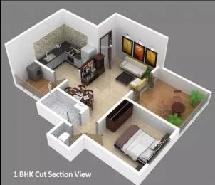 597 sqft, 1 bhk Apartment in Natraj Vela Enclave Lohegaon, Pune at Rs. 12000