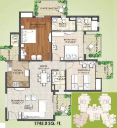 1745 sqft, 3 bhk Apartment in Spaze Privy AT4 Sector 84, Gurgaon at Rs. 76.0000 Lacs