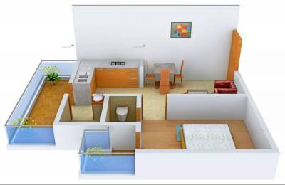404 sqft, 1 bhk Apartment in Supertech Basera Sector 79, Gurgaon at Rs. 13.0000 Lacs