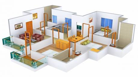 1975 sqft, 4 bhk Apartment in Orris Carnation Residency Sector 85, Gurgaon at Rs. 95.0000 Lacs