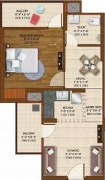 700 sqft, 1 bhk Apartment in Ace Platinum Zeta 1 Zeta, Greater Noida at Rs. 7000