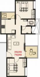 782 sqft, 2 bhk Apartment in Maple Aapla Ghar Chakan Chakan, Pune at Rs. 8500