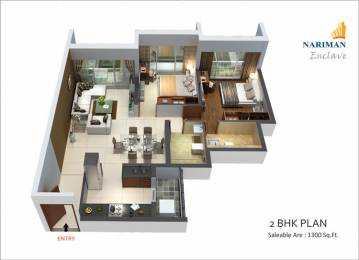 1400 sqft, 2 bhk BuilderFloor in Builder Project Sector 10A, Gurgaon at Rs. 15250