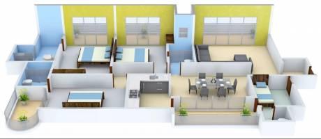 2500 sqft, 3 bhk Apartment in Mahagun Mezzaria Sector 78, Noida at Rs. 1.7000 Cr