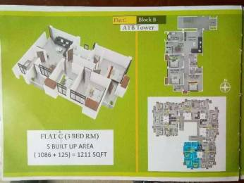 1164 sqft, 3 bhk Apartment in Builder Pratistha enclave Lalmati, Guwahati at Rs. 41.0000 Lacs