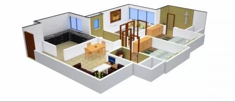 1560 sqft, 3 bhk Apartment in Romell Grandeur Goregaon East, Mumbai at Rs. 2.3000 Cr