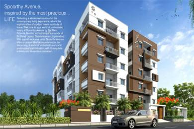 1125 sqft, 2 bhk Apartment in Builder Project Gajularamaram, Hyderabad at Rs. 37.5000 Lacs