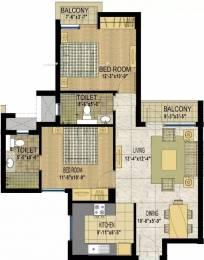 970 sqft, 2 bhk Apartment in Jaypee Klassic  Sector 129, Noida at Rs. 46.0000 Lacs
