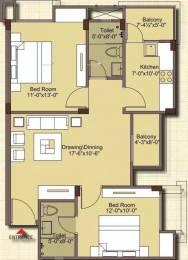 1174 sqft, 2 bhk Apartment in Mahima Nirvana Bhankrota, Jaipur at Rs. 45.0000 Lacs