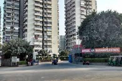 1180 sqft, 2 bhk Apartment in Ansal Sushant Apartment Sector 43, Gurgaon at Rs. 40000