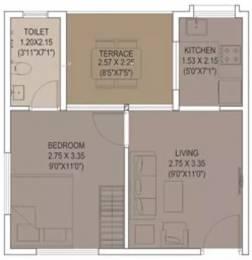 466 sqft, 1 bhk Apartment in Xrbia Smart City Warai, Mumbai at Rs. 30.0000 Lacs