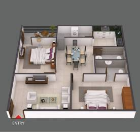 1130 sqft, 2 bhk Apartment in Builder Project B N reddy nagar, Hyderabad at Rs. 39.1600 Lacs