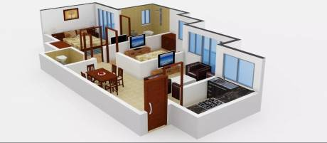 1000 sqft, 2 bhk Apartment in Avalon Rangoli Sector 24 Dharuhera, Dharuhera at Rs. 10000