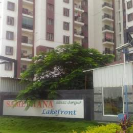 1200 sqft, 2 bhk Apartment in SPL Samethana Lake Front Whitefield Hope Farm Junction, Bangalore at Rs. 15000