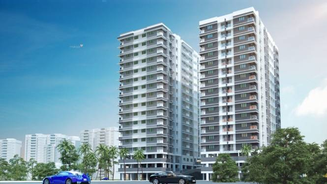 1145 sqft, 2 bhk Apartment in Builder Project Kazhakkoottam, Trivandrum at Rs. 44.6550 Lacs