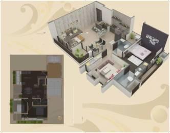 1260 sqft, 2 bhk Apartment in Platinum Saaga Near Nirma University On SG Highway, Ahmedabad at Rs. 47.0000 Lacs