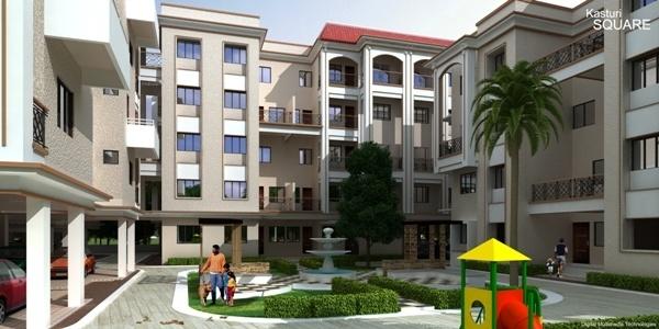 749 sqft, 2 bhk Apartment in Sky Kasturi Square Gotal Pajri, Nagpur at Rs. 1.8725 Cr