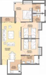 1200 sqft, 3 bhk Apartment in Jaypee Aman Sector 151, Noida at Rs. 8000