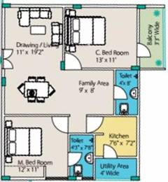 1035 sqft, 2 bhk Apartment in Sri Tirumala Tranquil Residency Narayanaghatta, Bangalore at Rs. 30.9465 Lacs