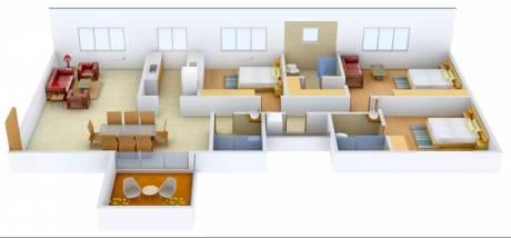 2525 sqft, 3 bhk Apartment in Ideal Ideal Exotica Alipore, Kolkata at Rs. 3.2000 Cr