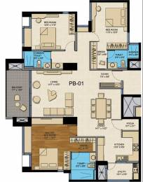 2310 sqft, 3 bhk Apartment in CNTC India The Presidential Tower Yeshwantpur, Bangalore at Rs. 3.5031 Cr