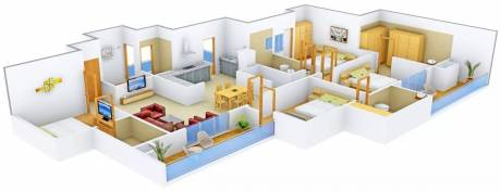 2448 sqft, 4 bhk Apartment in  Cleo County Sector 121, Noida at Rs. 1.6100 Cr