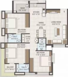 1501 sqft, 3 bhk Apartment in Shreepad Ethics Palanpur, Surat at Rs. 59.0000 Lacs