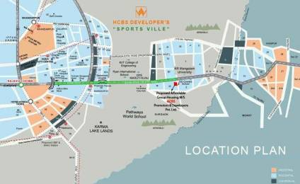 391 sqft, 1 bhk Apartment in HCBS Sports Ville Sector 2 Sohna, Gurgaon at Rs. 11.8800 Lacs