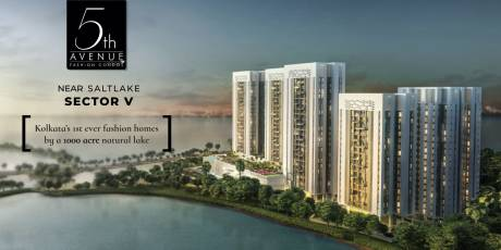 1062 sqft, 3 bhk Apartment in Merlin 5th Avenue Salt Lake City, Kolkata at Rs. 84.1423 Lacs