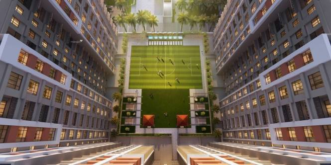 853 sqft, 2 bhk Apartment in Srijan Realty and Primarc Group and Riya Group Southwinds Sonarpur, Kolkata at Rs. 31.5610 Lacs