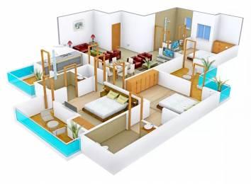 1460 sqft, 3 bhk Apartment in Motia Royal Citi Apartments Gazipur, Zirakpur at Rs. 14500